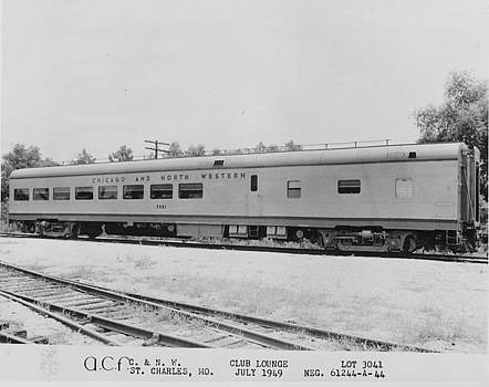 Chicago and North Western Historical Society - Chicago and North Western Club Lounge Car- 1940s