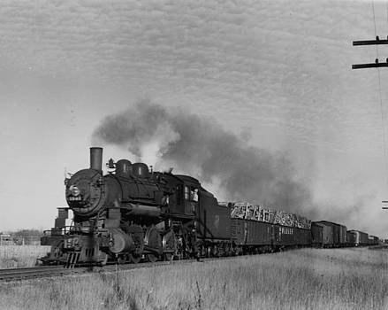 Chicago and North Western Historical Society - Chicago and North Western Railway Engine 1343