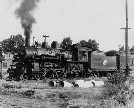 Chicago and North Western Historical Society - Steam Engine 393