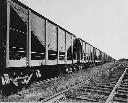Chicago and North Western Historical Society  - Ore Cars Ready to Roll
