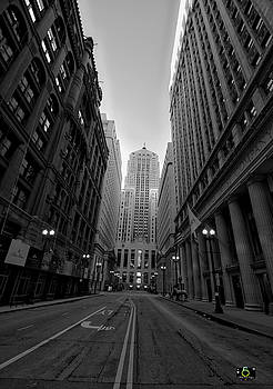 Chicago At Dawn by Collette Rogers