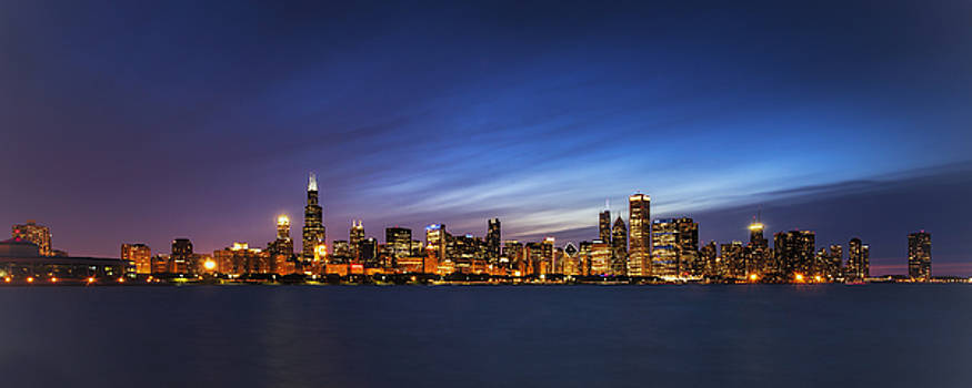 Chicago at Twilight by Andrew Soundarajan