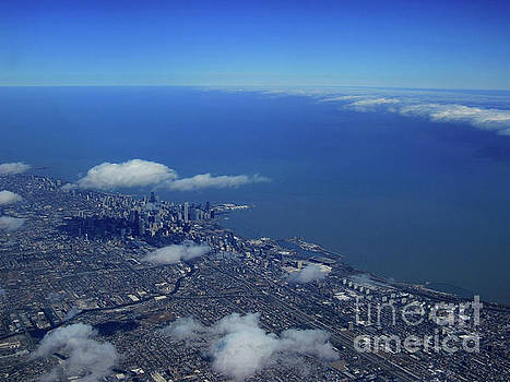 Chicago Below the Clouds by Ron Tackett