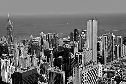 Chicago Birdview by Miranda  Miranda
