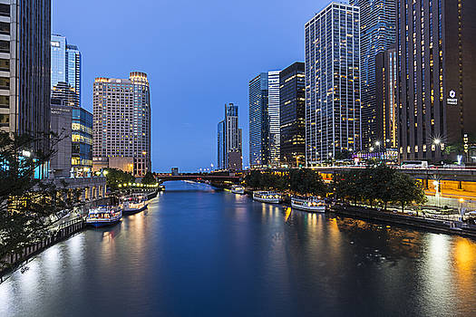 Chicago Blue by CJ Schmit