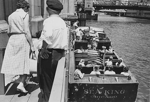Chicago and North Western Historical Society - Chicago Boat Tour - 1962
