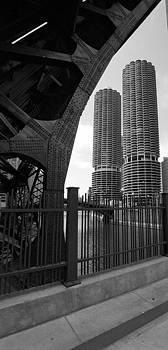Chicago Bridge and Buildings by Dmitriy Margolin