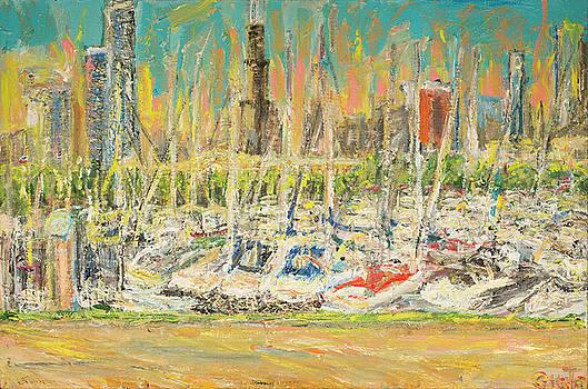Chicago Burnham Harbor by Patrick Ginter