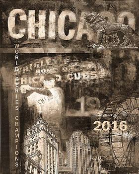 Chicago Cubs - 2016 World Series by Joseph Catanzaro
