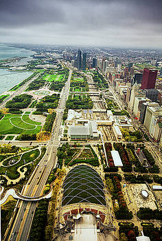 Chicago from Atop by Andrew Soundarajan