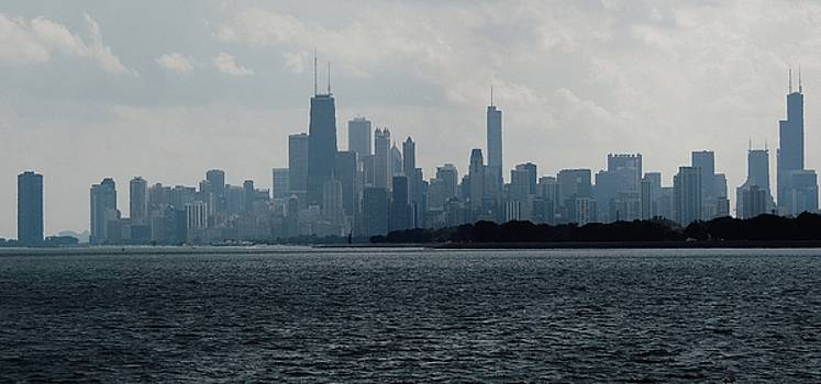 Chicago from Belmont Harbor by Todd Sherlock