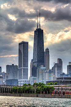 Chicago from the Pier by Joshua Ball