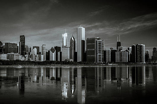 Chicago Lake Front by Miguel Winterpacht