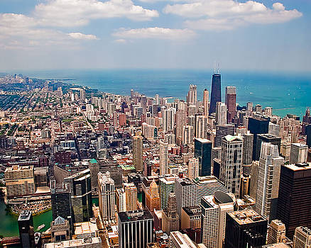 Chicago Lake Michigan Overview by Liviu Leahu