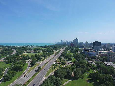 Chicago Lake Shore Drive by Patrick Warneka