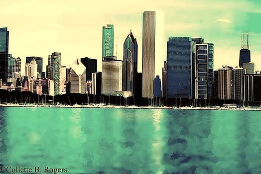 Chicago Lakefront by Collette Rogers