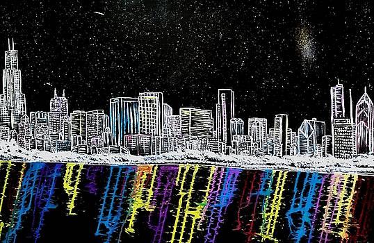 Chicago Nights by Dink Densmore
