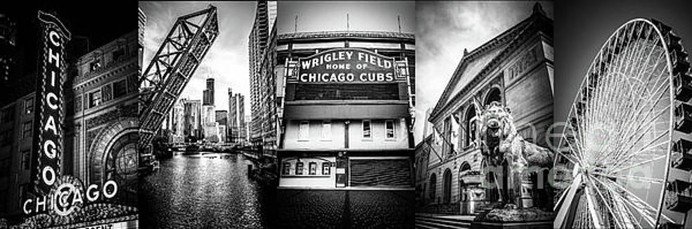 Chicago Panorama Collage High Resolution Photo by Paul Velgos