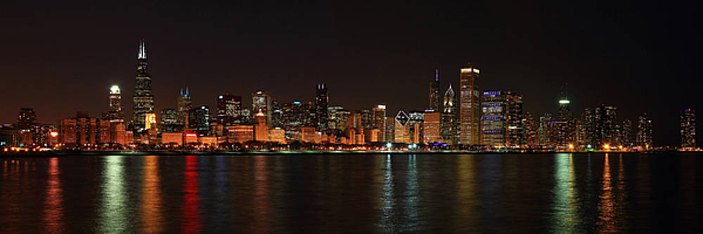 Chicago Panoramic by Brian Pflanz