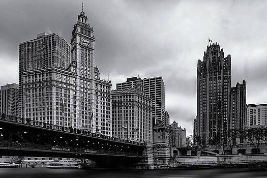 Chicago River Scene by Andrew Soundarajan