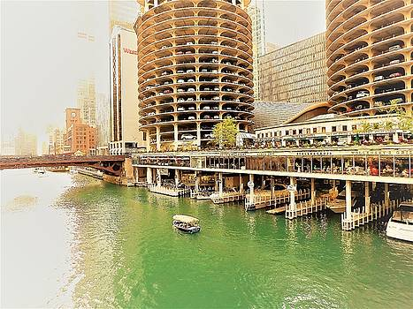 Chicago River by Tephra Miriam