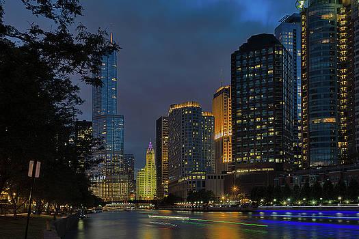 Chicago Riverwalk #1 by Winnie Chrzanowski