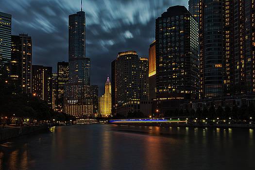 Chicago Riverwalk #2 by Winnie Chrzanowski