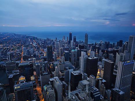 Chicago Skyline  by Baptiste De Izarra