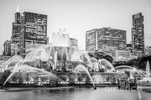 Paul Velgos - Chicago Skyline Black and White Photography