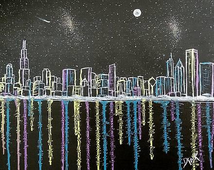 Chicago Skyline by Dink Densmore