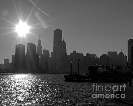 Chicago Skyline by Kimberly Blom-Roemer