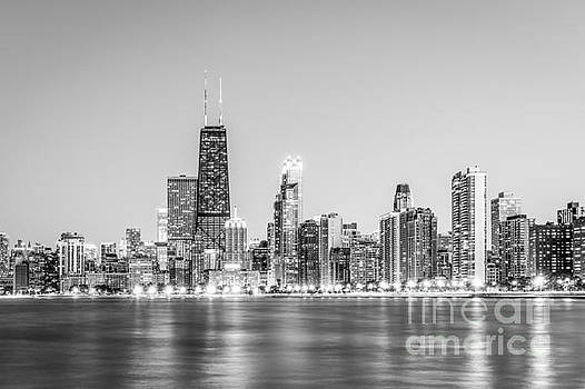 Paul Velgos - Chicago Skyline with Hancock Building Photo