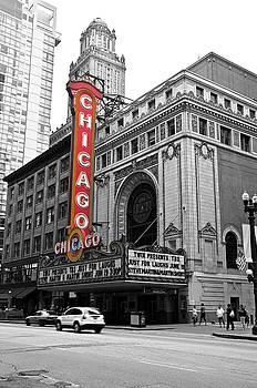 Chicago Theater by Maria Aiello