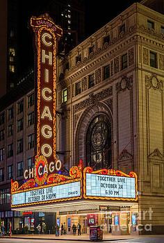 Chicago Theater, Study 1 by Randy Lemoine