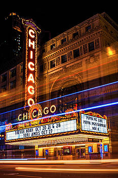 Chicago Theatre by Andrew Soundarajan