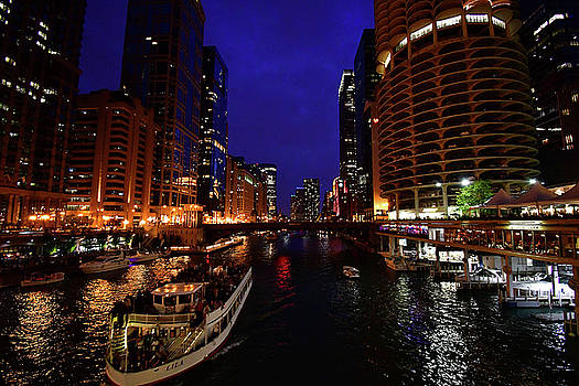 Chicago Waterway  by Rob Banayote