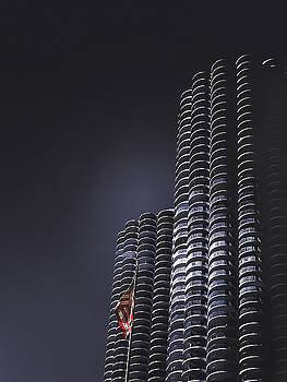Chicago's Marina Towers by Andrew Soundarajan