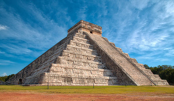Chichen Itza, El Castillo by Robert Lyon