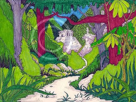 Chichen Itza by Ozy Kroll