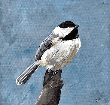 Chickadee by Anne Hockenberry