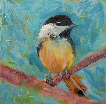 Chickadee by Barbara Andolsek