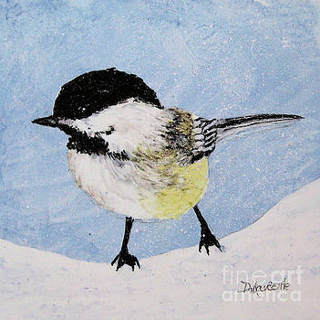 Chickadee by Diane Marcotte