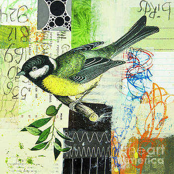 Chickadee by Elena Nosyreva