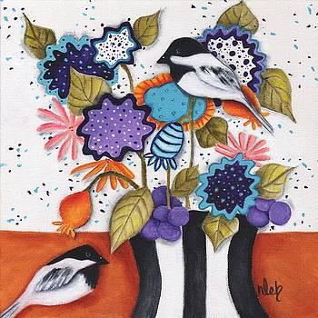 Chickadee Garden by Deb Harvey