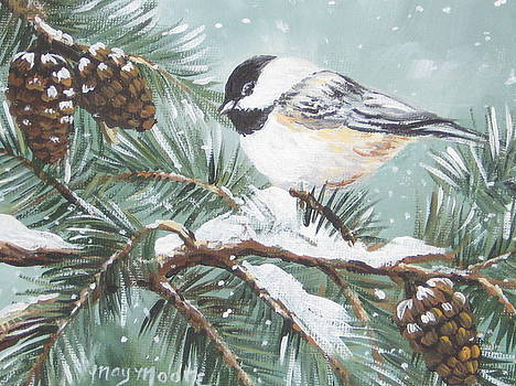 Chickadee by May Moore