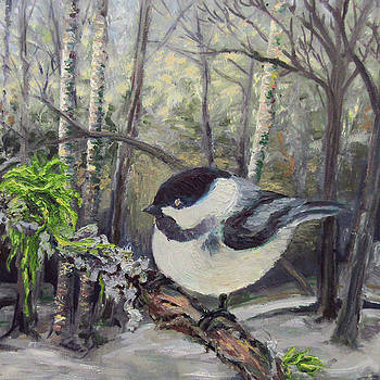 Chickadee by Melissa Peterson
