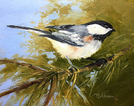 Chickadee by Tina Bohlman