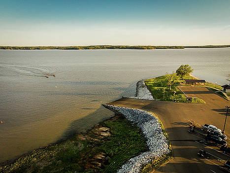 Chickasaw Landing Aerial by Barry Jones