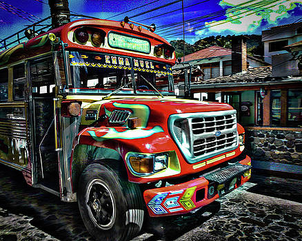 Chicken Bus by Eye Browses