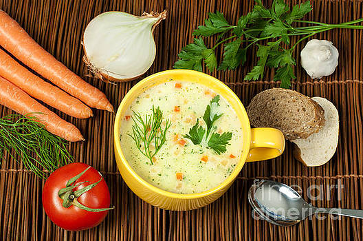 Chicken Cream Soup by Deyan Georgiev